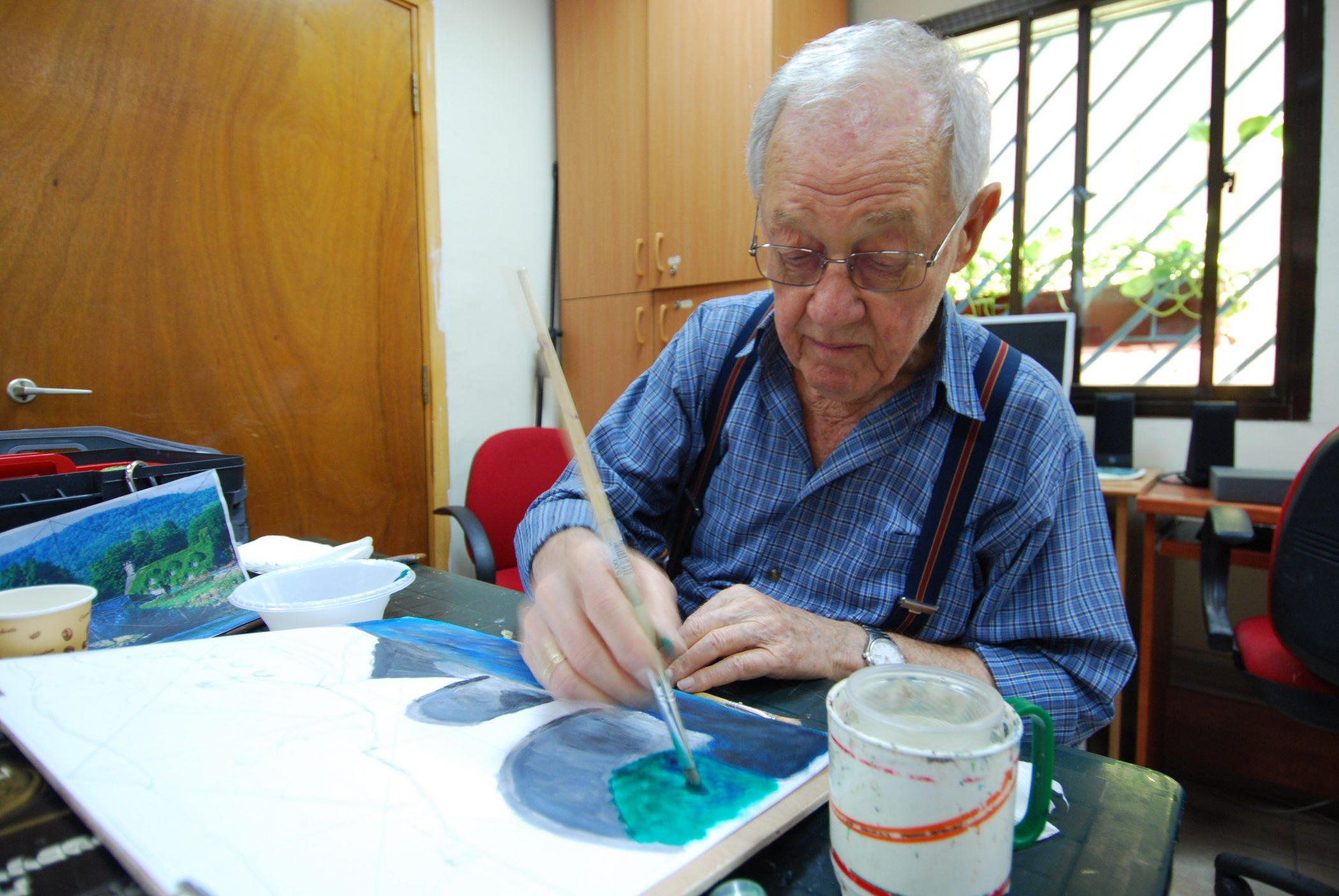 Art Therapy With Holocaust Survivors: A Case Study